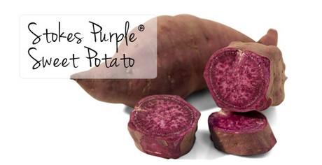 Paarse zoete aardappel recept
