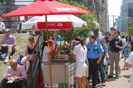 California Giant and HSBC Bank bring a taste of Wimbledon to NYC