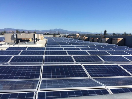 orange county distribution company goes solar