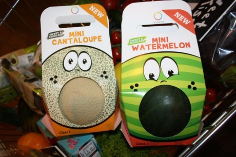 New Melon Packaging Attracts Attention