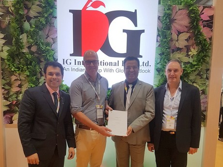 Joint venture to expand Australian blueberry production in India
