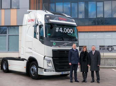 Girteka Logistics sees FTL truck fleet grow to 4,000