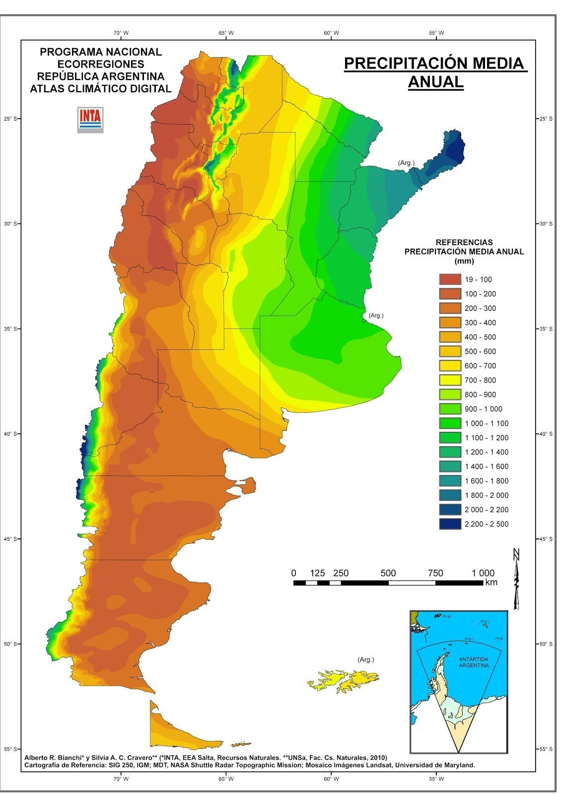Climate change in Argentina - Wikipedia  |Argentina Rainfall