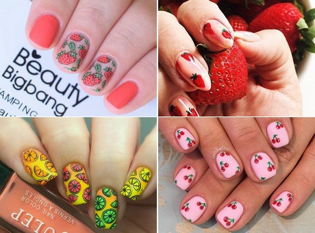 Fruity Nail Designs Perfect For The Summer