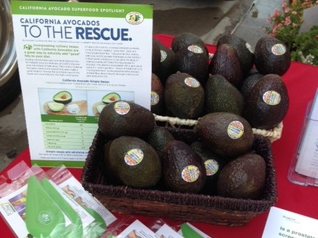 Avocados marketed alongside health and wellness programs