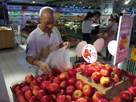 Strong Asian market for New Zealand apples